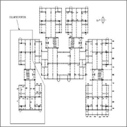 walls • Ductile RC frames with/without infill walls Figure 2: A plan of a typical RC