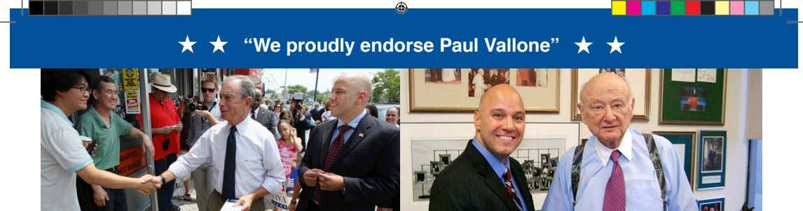 """We proudly endorse Paul Vallone"""