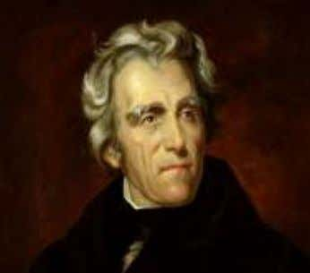 suspicion of bribe or blackmail at work behind the scenes. In 1828 Andrew Jackson said in