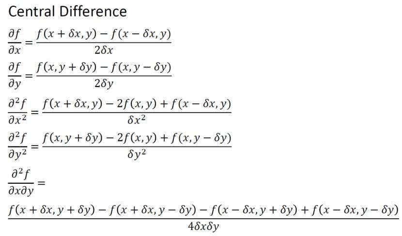 MBE2036 Engineering Computing, part 8, version 2 Finite Difference Approximation