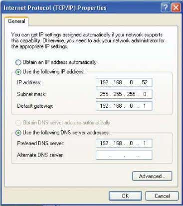 Assigning a Static IP Address in Macintosh OSX