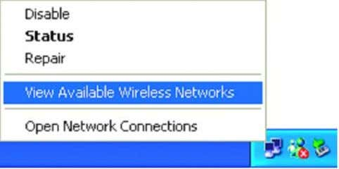 available network, as shown in the illustrations below. Check that the IP address assigned to the