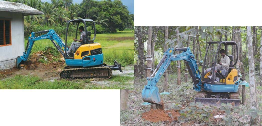 conditions and construction environments. The real world-class Kubota mini excavator is ready to take any challenge.