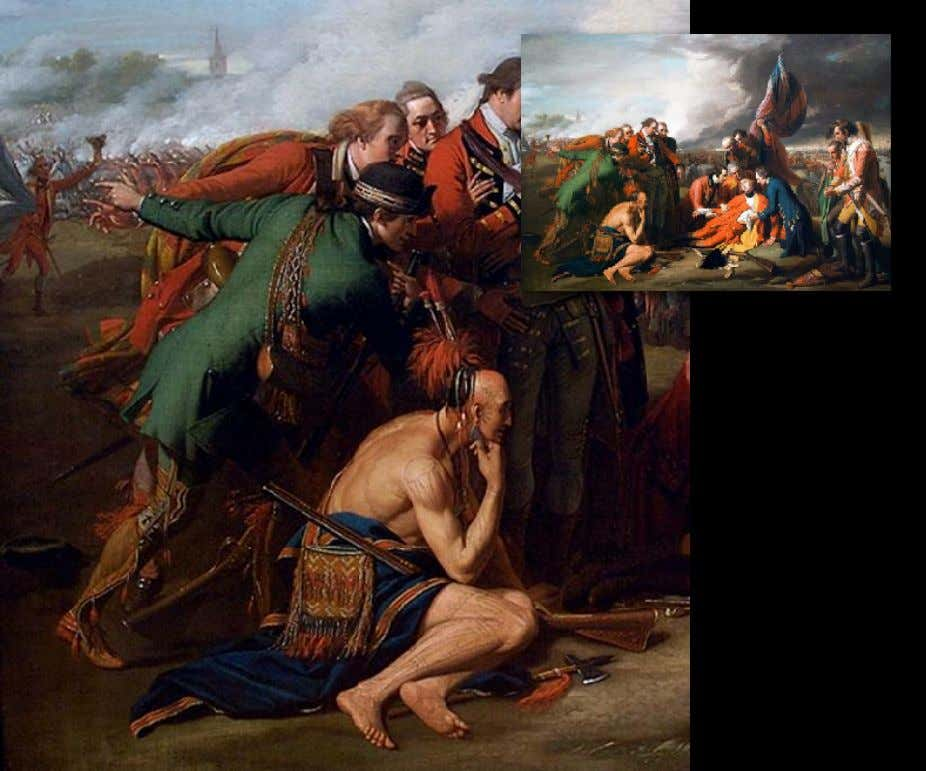 """The Death of General Wolfe"" by Benjamin West 1770 (National Gallery of Canada)"