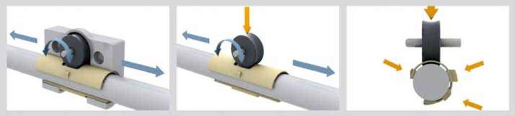 Cost-effective Can be combined with 7 linear profile rails www.igus.co.uk/en/WJRM-video DryLin ® W Hybrid Linear