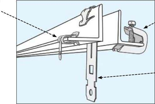 Hanging Hardware Hangers: Hammer-On D S Pressed Beam Clamp C Hangers: Vertical & Angled B A
