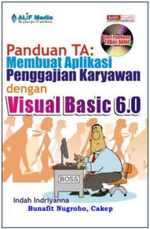 Suport by : www. planetKode.Com Open: http:// buku-ta.blogspot.com NO JUDUL PROGRAM : VISUAL BASIC 6.0 Published