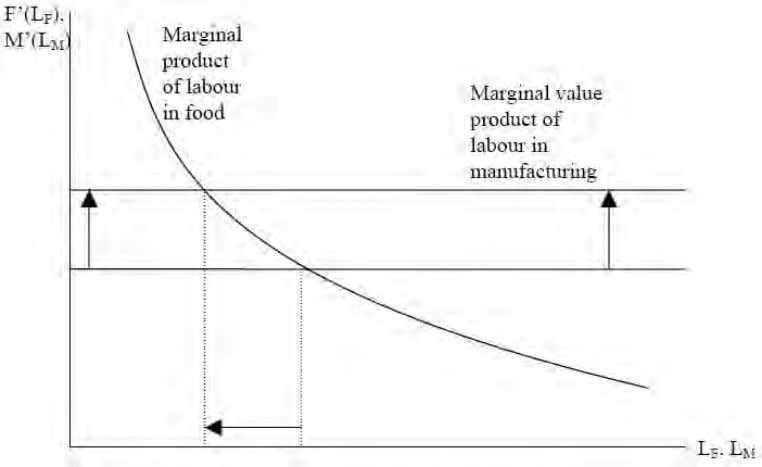 Figure 4.3. The impact of a tariff under the Brigden assumption Economic science and political power