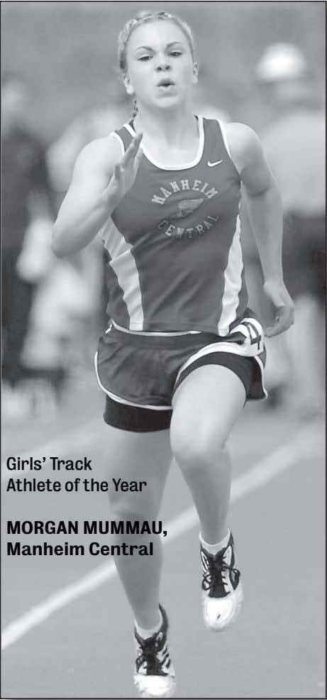 Girls' Track Athlete of the Year MORGAN MUMMAU, Manheim Central