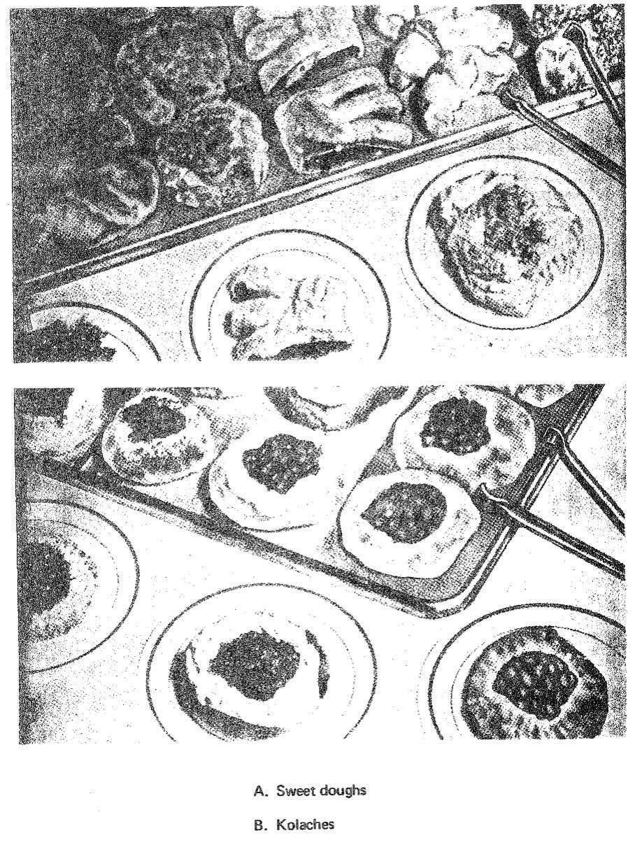 Figure 12. Baked items made from sweet dough. 82