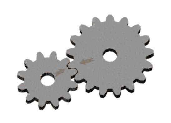 They allow both rotation and sliding between the two connected links or meshed gears. EME2056 THEORY