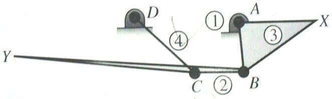 as point of interest Y . 5. Draw the Kinematic Diagram The kinematic diagram is given: