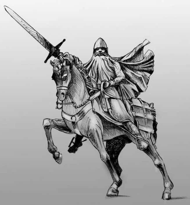 112 The Almoravids and the Meanings of Jihad Drawing of the Statue of El Cid in