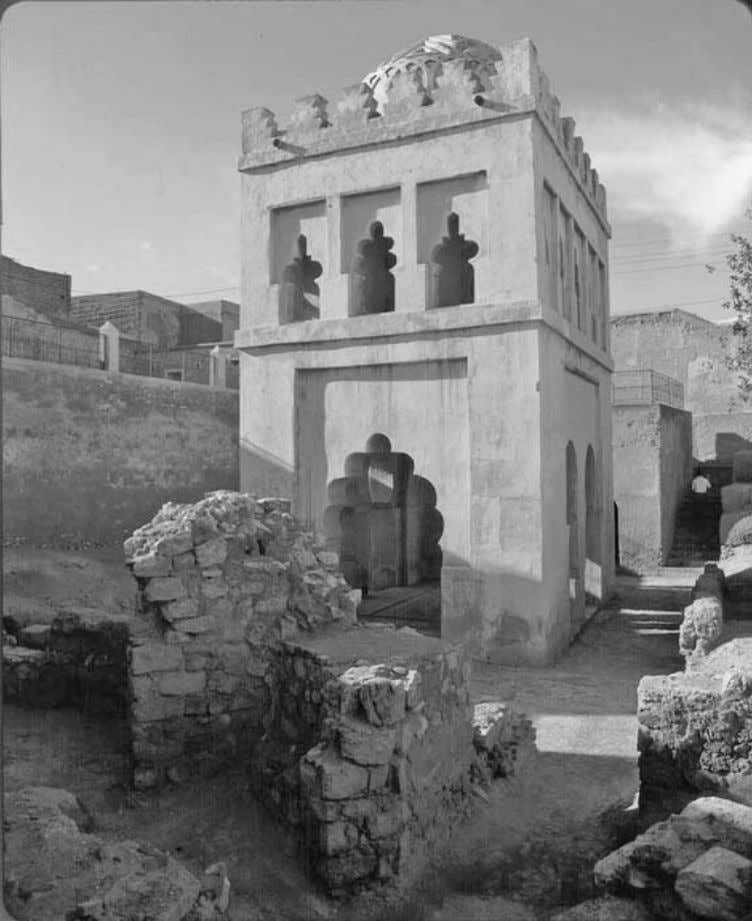Ali Ibn Yusuf Sets His House in Order 125 The Qubba al-Murabitin is the kiosk that