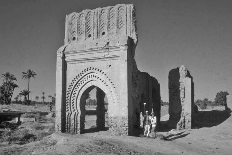 but would be closed and heavily guarded during the night. Bab Rih (Gate of the Wind),