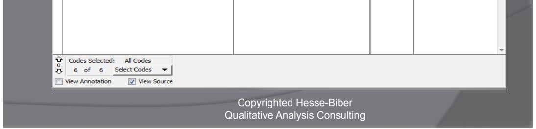 Case Card Copyrighted Hesse-Biber Qualitative Analysis Consulting