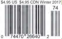 $4.95 US $4.95 CDN Winter 2017
