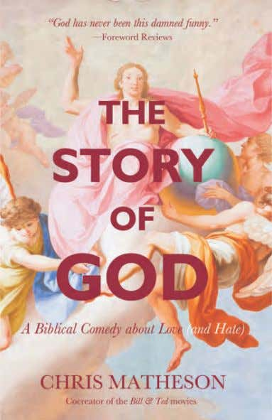 the funniest story ever told: the Bible. by Natasha Stoynoff G rowing up in Hidden Hills,
