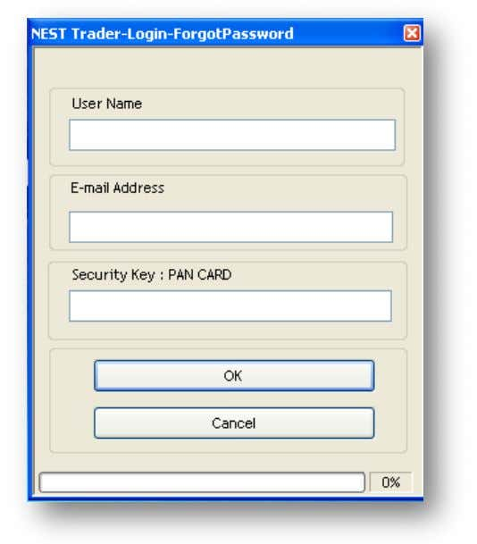 treme Trader How to request for a new password or what to do in case you