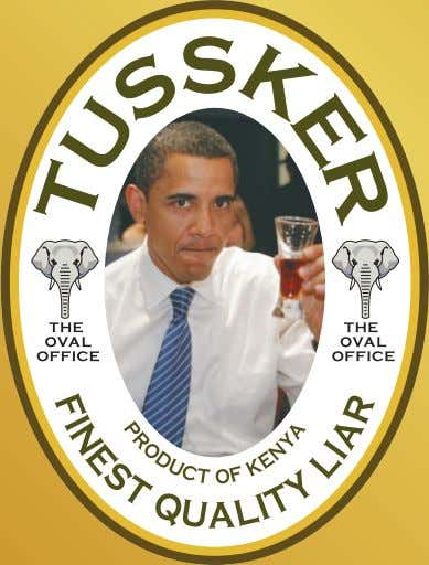 Obama's Beer of Choice for His Next Beer Summit? KENYA My Country, TUSSKER My Beer The