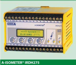A-ISOMETER® IRDH275