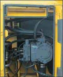 • Additional head lamp • Lower wiper (optional) Pump/engine room partition Prevents hydraulic oil from