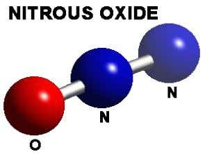 known are nitric oxide (NO) and nitrogen dioxide NO 2 . The nitrous oxide molecule's structure