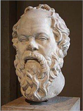 Socrates ​ proposed for philosophers a private monopoly of knowledge separate from the public sphere.