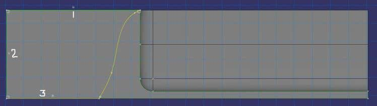 15: Solder - Front view, section sketch to extrude solid Figure 16: Solder - Side view,