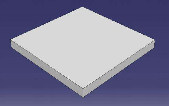 section for the solid extrusion). Enter depth of 0.8 and click OK . See figure 23.