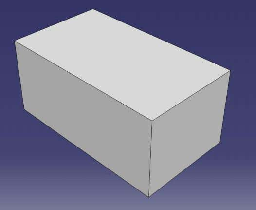 section for the solid extrusion). Enter depth of 2 and click OK . See figure 24.