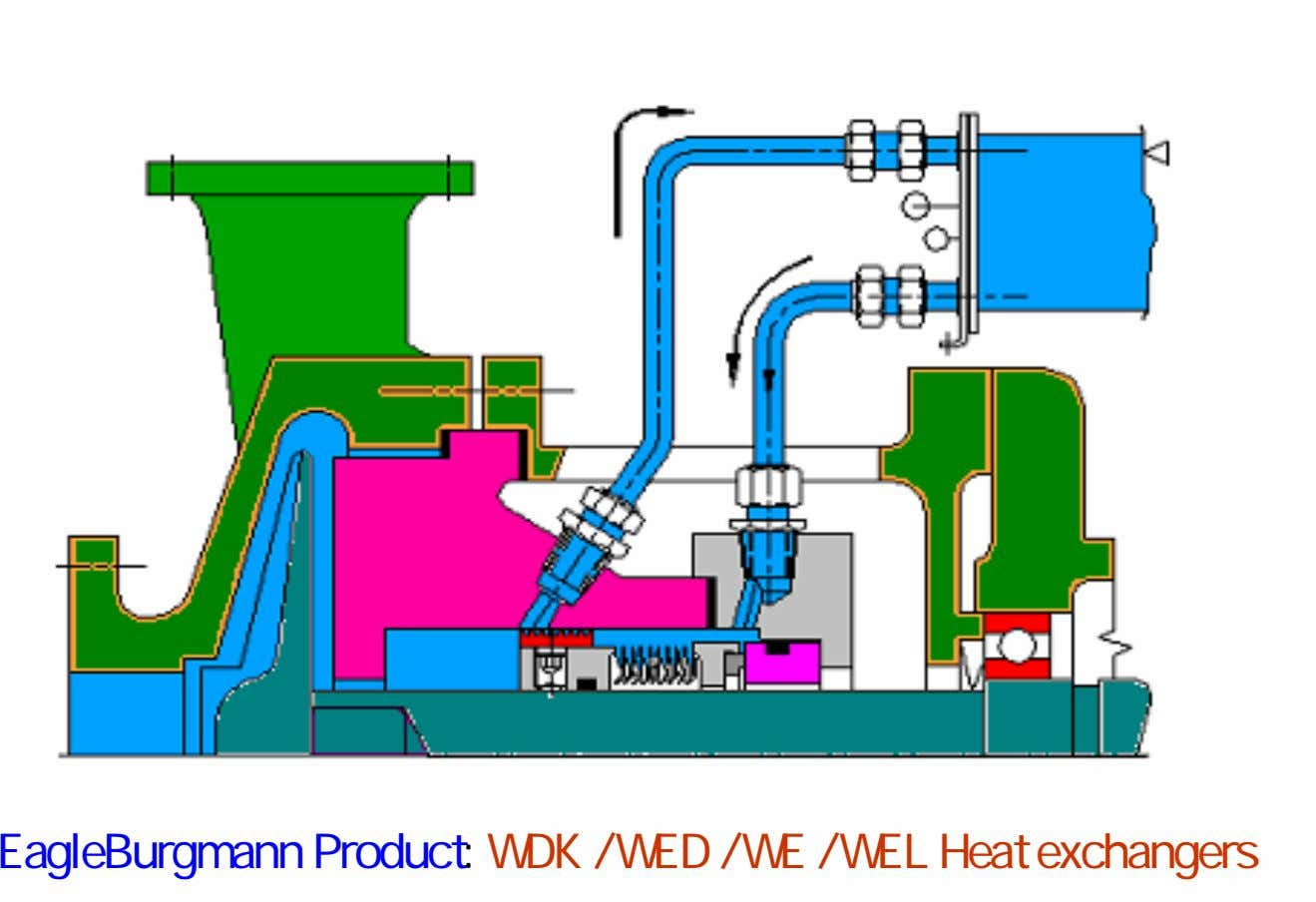 EagleBurgmann Product: WDK / WED / WE / WEL Heat exchangers