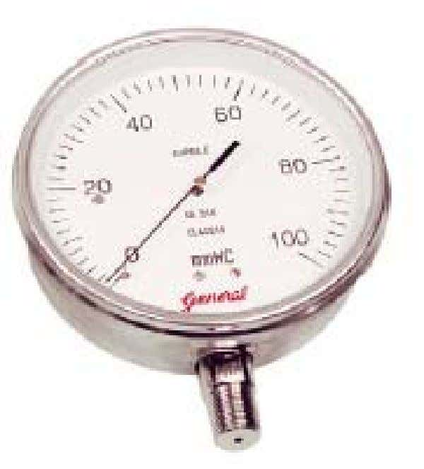 Pressure Gauge Corporate Training – EagleBurgmann India Prepared by : Surajjit Rayy Used to indicate pressure