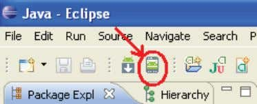 """Android Virtual Device Manager"", y pulsar en ""New"": Figura 13. Símbolo Android Virtual Device Manager En"