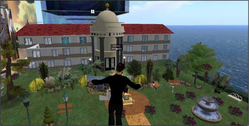 the traditional classroom. Figure 1-4: UKZN Virtual Campus in Second Life (as at 18 June 2017)