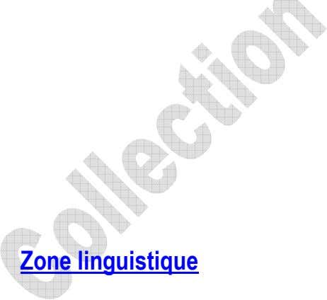 Zone linguistique