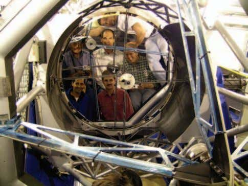 using the VLT coating plant on Paranal (photo: P. Giordano). ect engineers, in particular when the