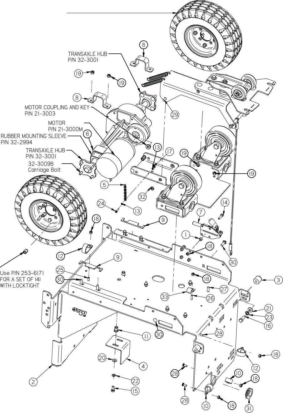 10 Frame Assembly 10 Magnum Parts Manual V13.0315