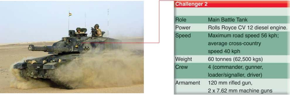 the following units: Two armoured infantry battalions equipped with Warrior Armoured Infantry Fighting vehicles and 6