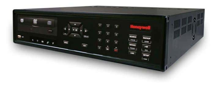 Introduction HRDP DVR User Guide Product Description Honeywell's HRDP H.264 DVR is a powerful, yet affordable,