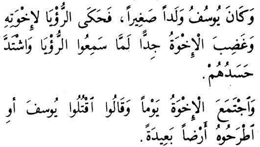 and they say: Kill Yusuf or throw him to a faraway land. 1 4 2 i.e.