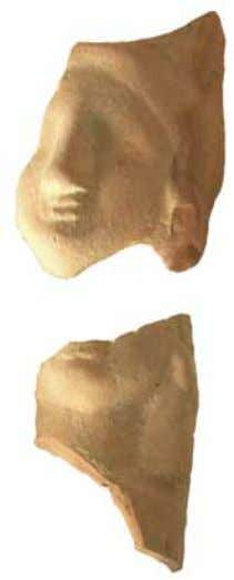 Fig. 6 Pebetero (Museo Arqueológico de Guardamar) TERRACOTAS IBÉRICAS DEL CASTILLO DE GUARDAMAR Fig. 5 Pebetero