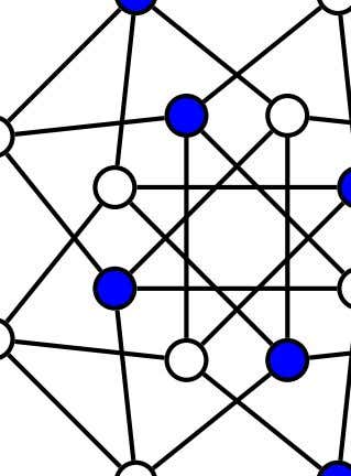 two graphs are not isomorphic, although they have the There are, in fact, only five vertices