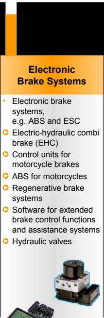 Electronic Brake Systems