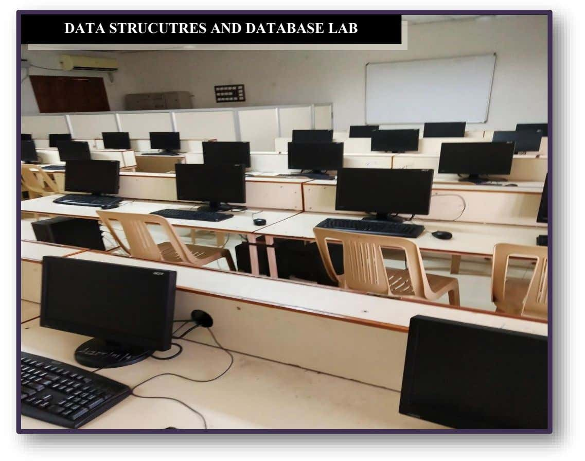 DATA STRUCUTRES AND DATABASE LAB