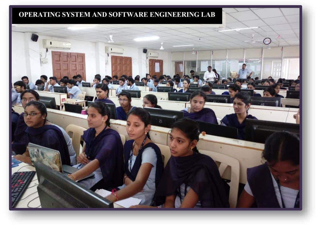OPERATING SYSTEM AND SOFTWARE ENGINEERING LAB