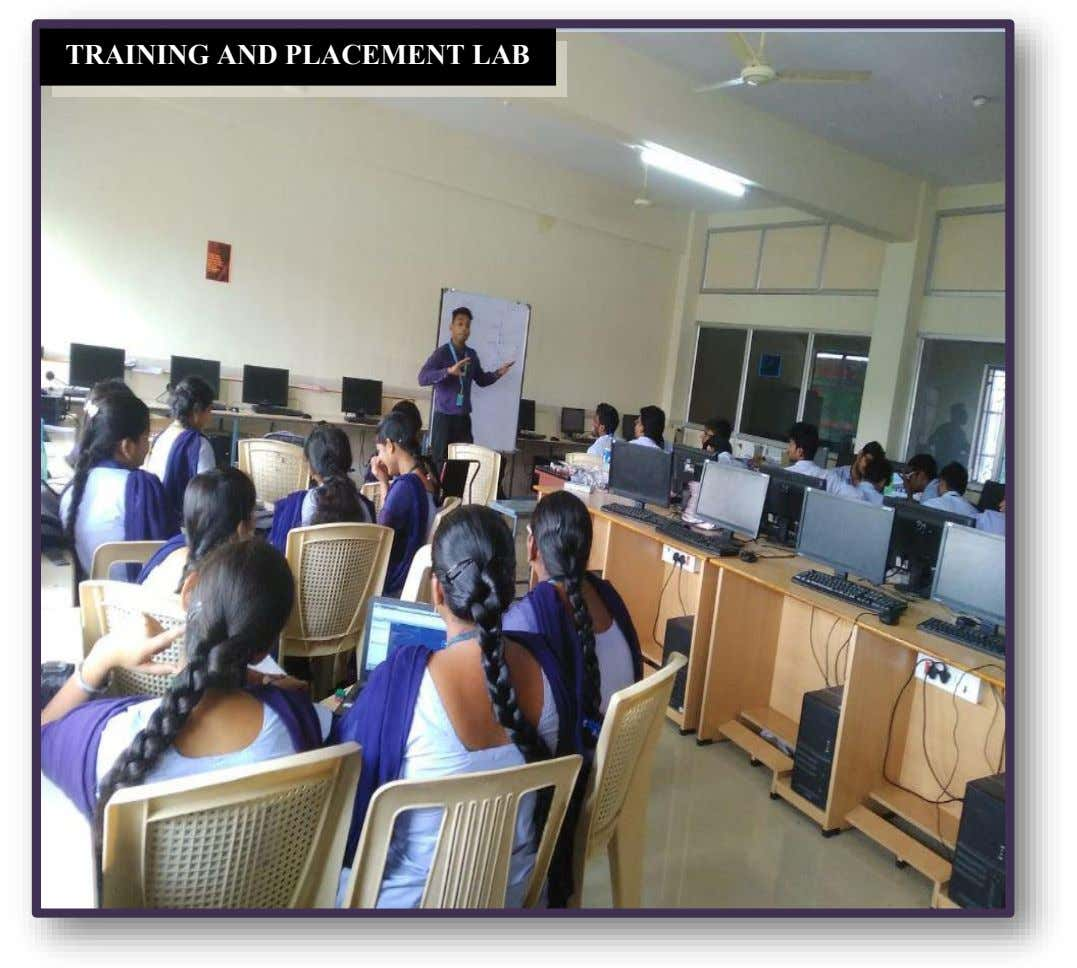 TRAINING AND PLACEMENT LAB