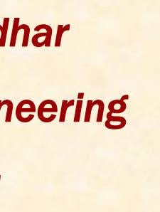 AAnn OOvervverviiewew ofof SoilSoil MechanicsMechanics Dr. P. K. Basudhar Dept of Civil Engineering IIT Kanpur