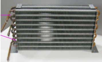 Gas cooler and shares the same fins. Inter Cooler Gas Cooler Figure 6: Gas cooler and