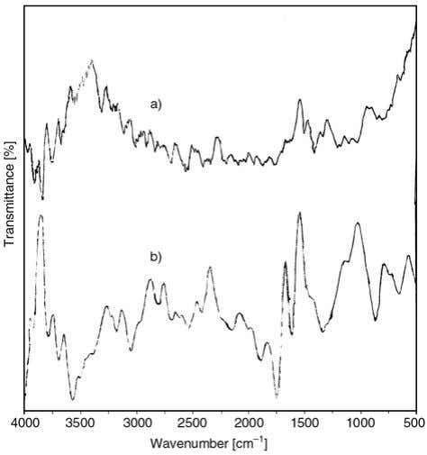 and PAA, respectively, which also confirm the grafting of Figure 6. FTIR spectra of (a) PANI